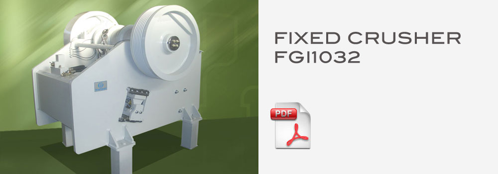 fixed crushers fgi1032