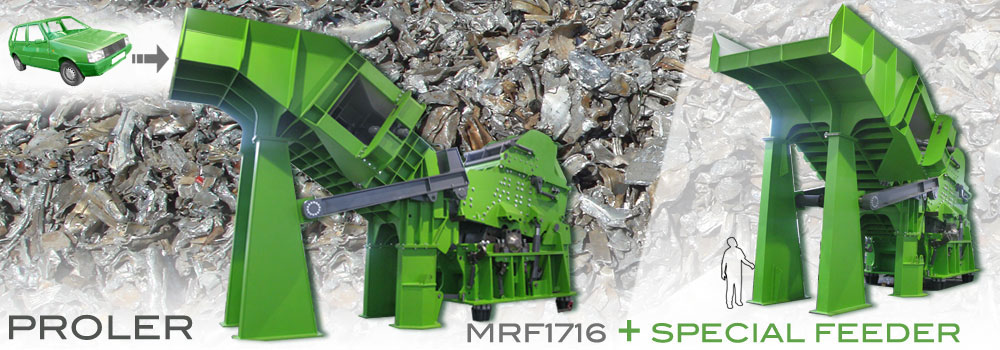 Metall Shredder - Schrott shredder